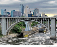 # 4776 Minneapolis Skyline & 10th Ave Bridge