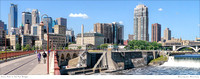 # P4906 Minneapolis Skyline - Bridge to Bridge