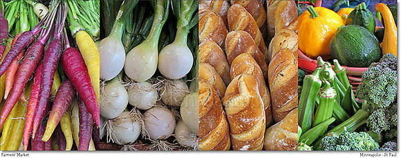 # P2346 Farmers' Market - Collage