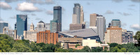 # P4135 - Minneapolis, Skyline - From U of M Campus