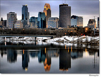 # 4880 Minneapolis Skyline - Broadway Winter
